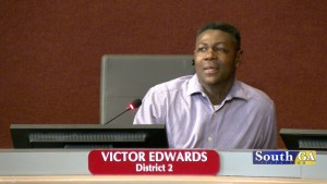 Victor Edwards Commissioner