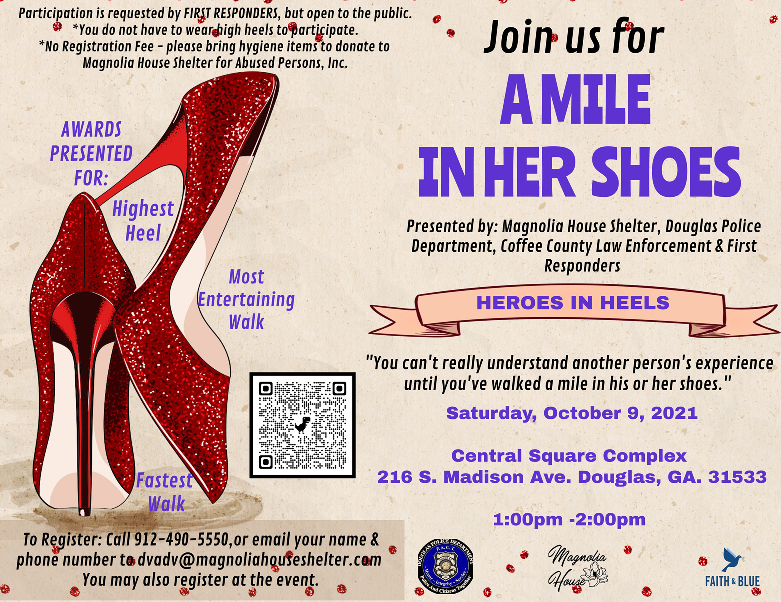 A Walk In Her Shoes Event